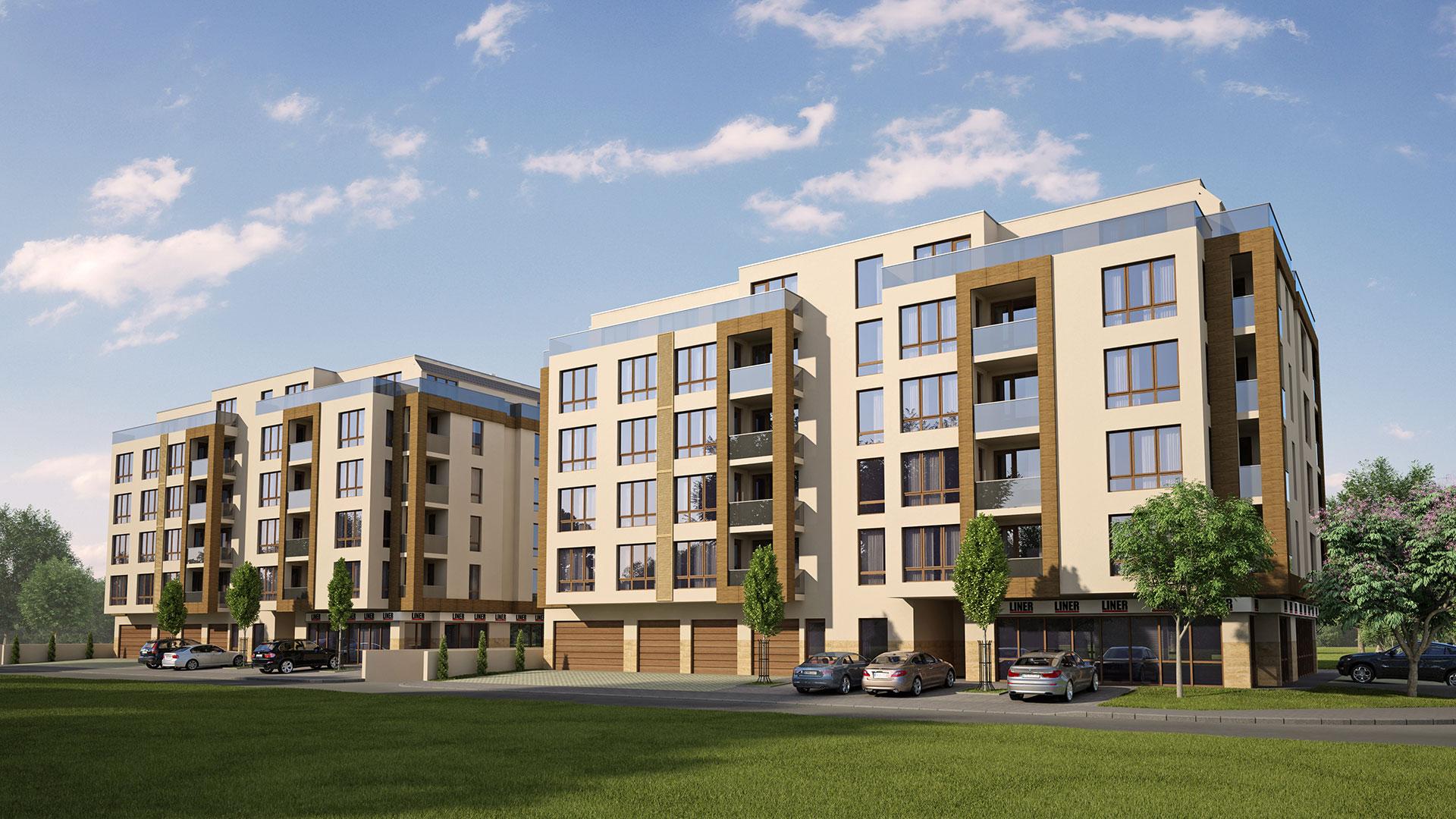 Агенция Ревистави предлага в Южен - Комплекс 1 продажба на апартаменти в луксозен жилищен комплекс