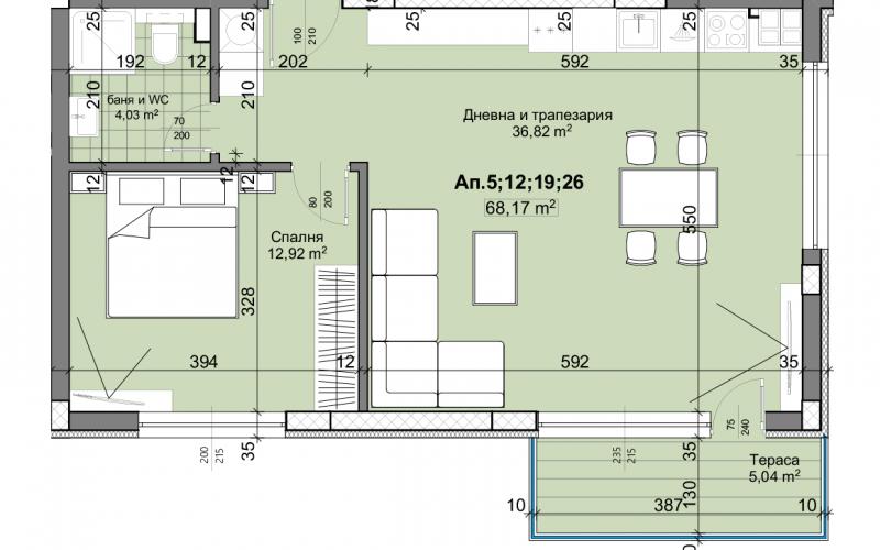 Агенция РЕВИСТА - ДИРЕКТНИ ПРОДАЖБИ БЕЗ КОМИСИОН на едностайни, двустайни, тристайни апартаменти в изключително луксозни жилищни комплекси в град Пловдив