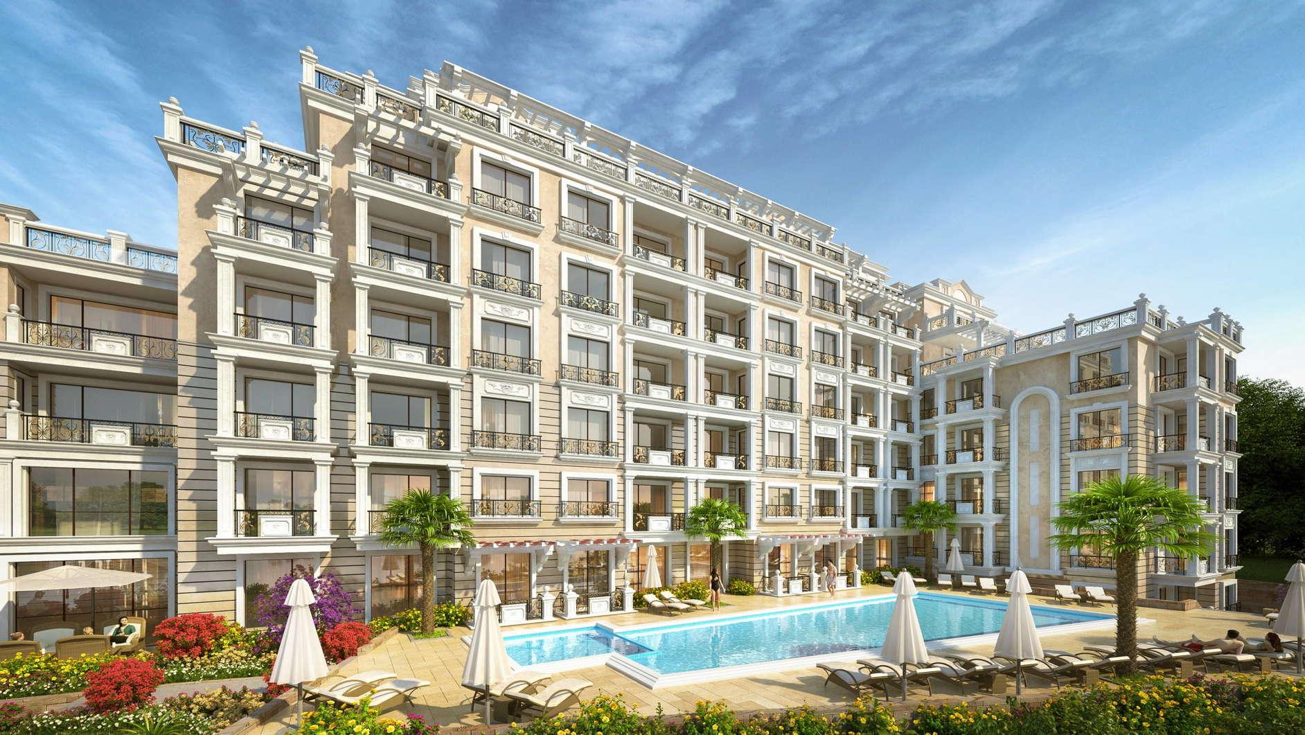 Агенция РЕВИСТА представя за продажба БЕЗ КОМИСИОН едностайни, двустайни и тристайни апартаменти в луксозен жилищен комплекс на морето на Свети Влас