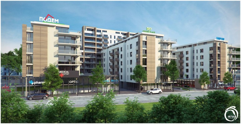 Агенция Ревистави предлага за продажба на апартаменти в луксозен жилищен комплекс в квартал Христо Смирненски