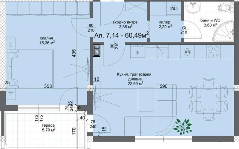 Агенция РЕВИСТА - ДИРЕКТНИ ПРОДАЖБИ БЕЗ КОМИСИОН на двустайни, тристайни, многостайни апартаменти в изключително луксозен жилищен комплекс в квартал Христо Смирненски.