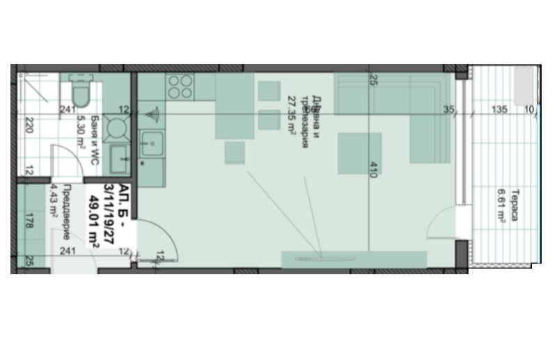 ЕВИСТА представя ПРОДАЖБИ БЕЗ КОМИСИОН на, едностайни, двустайни, тристайни апартаменти в луксозен жилищен комплекс в квартал Кършияка