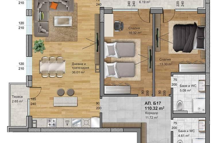 Агенция РЕВИСТА представя 📙ЕКСКЛУЗИВНИ ПРОДАЖБИ БЕЗ КОМИСИОН на, едностайни, двустайни, тристайни и многостайни апартаменти в луксозен жилищен комплекс Regatta Park West.