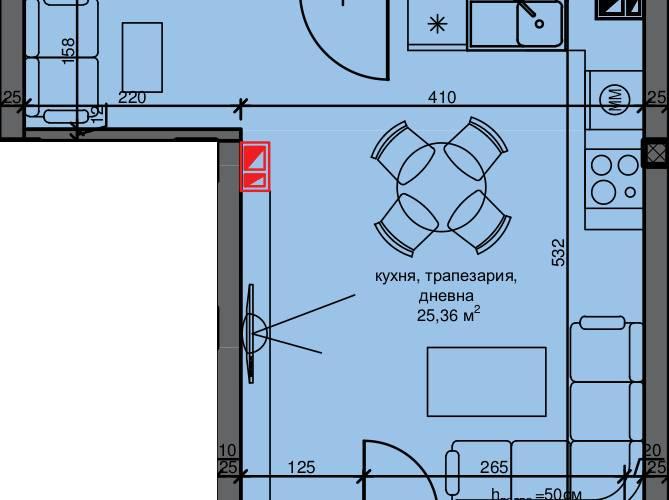 Агенция РЕВИСТА - ДИРЕКТНИ ПРОДАЖБИ БЕЗ КОМИСИОН на едностайни, двустайни, тристайни апартаменти в изключително луксозен жилищен комплекс в квартал Остромила.