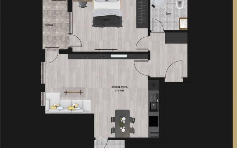 Агенция РЕВИСТА - ДИРЕКТНИ ПРОДАЖБИ БЕЗ КОМИСИОН на двустайни и тристайни апартаменти в модерен, иновативен, вдъхновяващ за живот... жилищен комплекс 1.